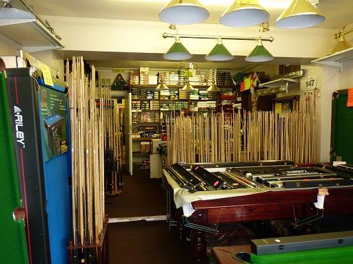 The Snooker Shop,1025 Stockport Road, Levenshulme, Manchester, M19 2TB. Tel: 0161 431 9811